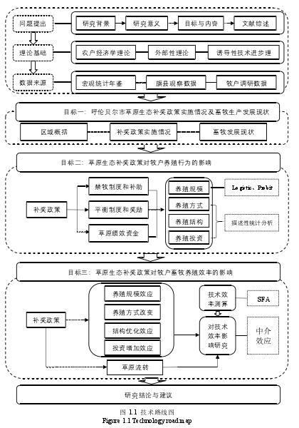 圖 1.1 技術路線圖