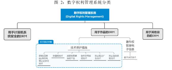 图 2:数字权利管理系统分类