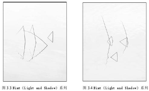 图 3.3 Nimt《Light and Shadow》系列 图 3.4 Nimt《Light and Shadow》系列