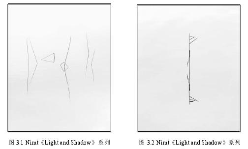图 3.1 Nimt《Light and Shadow》系列 图 3.2 Nimt《Light and Shadow》系列