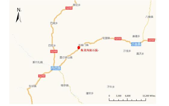 图 2-1研究区域地理位置图